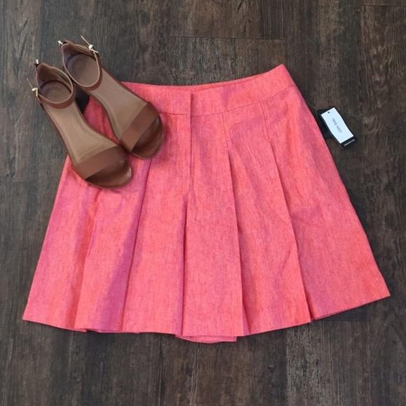 Nine West Dresses & Skirts - Nine west Platted orange twill shorts
